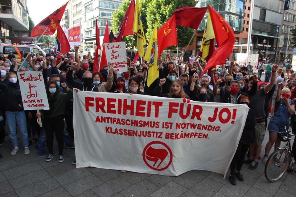 Kampf der Klassenjustiz – Freiheit für Jo!