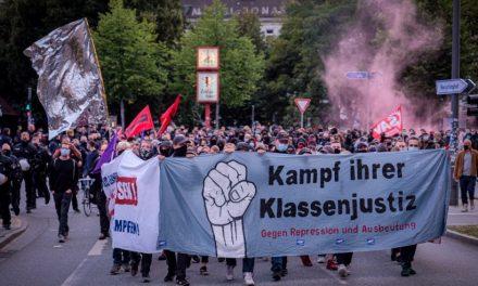 Razzia gegen Roten Aufbau – Solidarität mit den GenossInnen