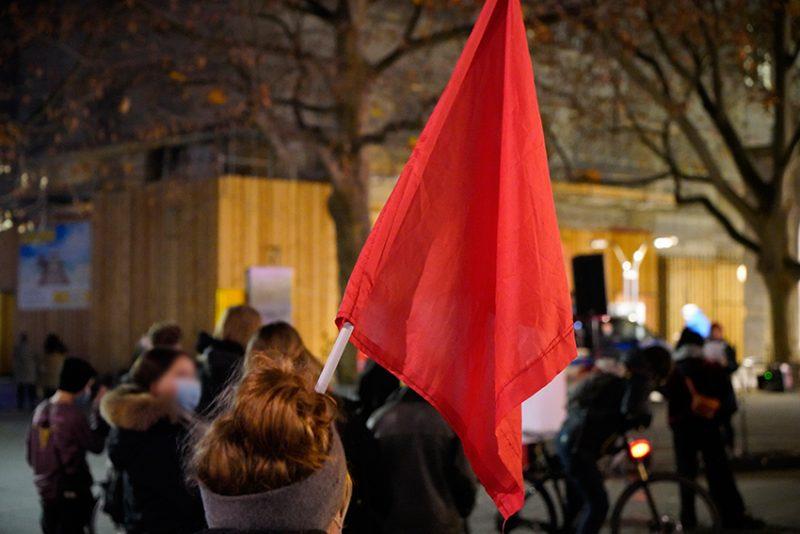 Dezentraler Aktionstag in Solidarität mit den Betroffenen der Rondenbarg-Verfahren