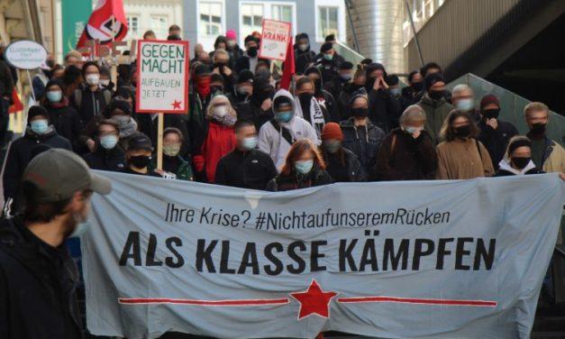 Bericht vom Aktionstag: Ihre Krise nicht auf unserem Rücken – als Klasse kämpfen