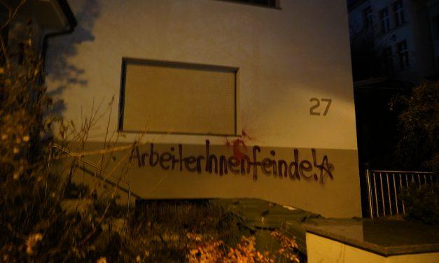 Kommunaler Arbeitgeberverband (KAV) in Stuttgart markiert + Video