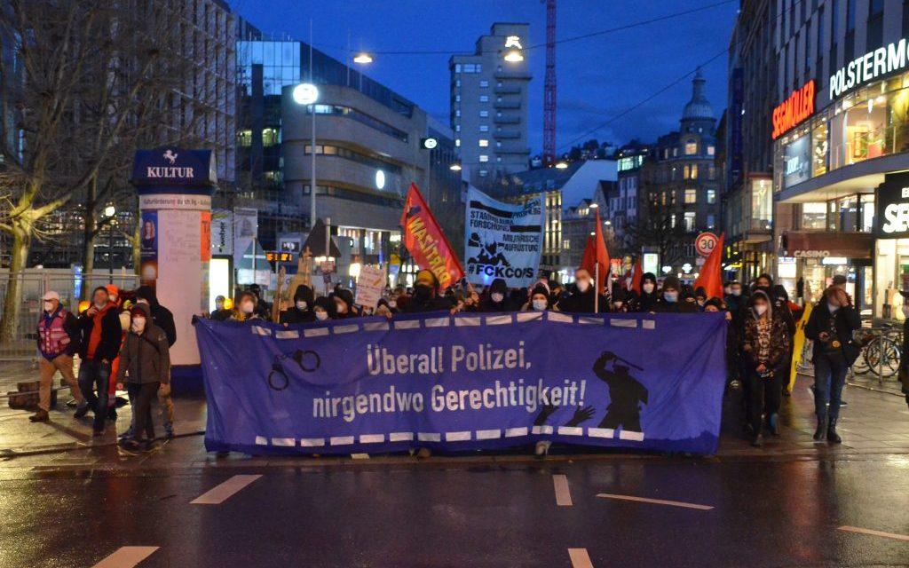 Demo zum Internationalen Tag gegen Polizeigewalt