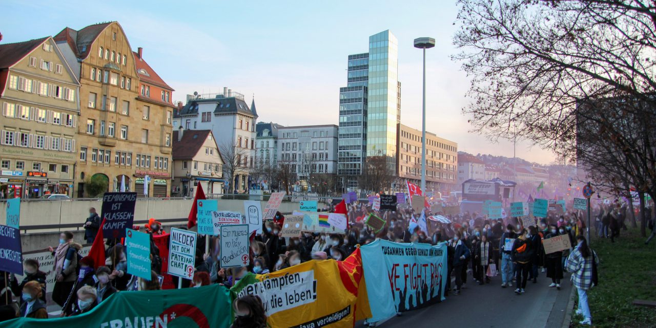 Frauenkampftag am 8. März in Stuttgart