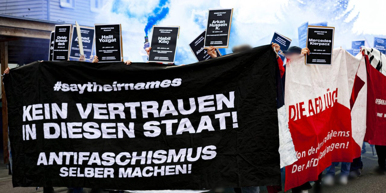 10 Jahre Winterbacher Brandanschlag – Das System bleibt Rassistisch!